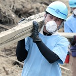 Tenrikyo Disaster Relief Hinokishin Corps Helps Rainstorm Victims in Northern Kyushu