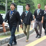 South Korea Chapter of TenrikyoYoung Men's Association Organizes Mission Caravan in Fukuoka