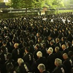 Pre-funeral Ceremonies Take Place for Late Third Shinbashira