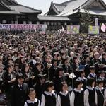 75,000 Gather to Celebrate Oyasama's 217th Birthday