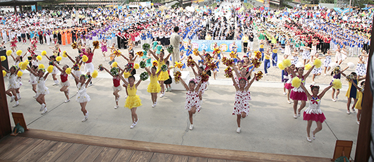 2017 Children's Pilgrimage to Jiba Draws 230,000 to the Home of the Parent