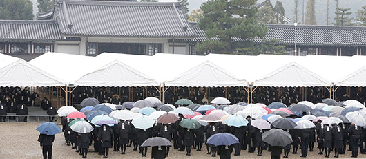 The 50th Memorial Service for the 2nd Shinbashira Conducted